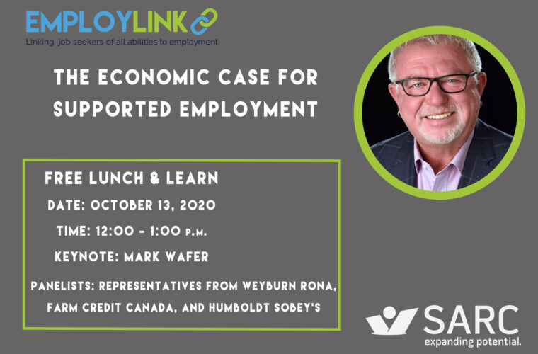 Free Lunch & Learn on the Economic Case for Supported Employment - Click to Register