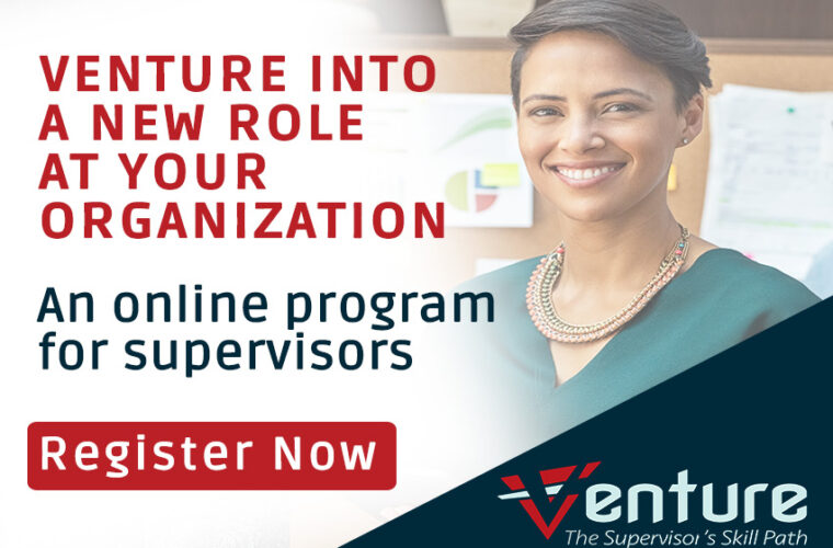 Register Now for Venture - A Supervisor
